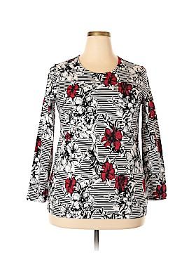 Christopher & Banks Long Sleeve T-Shirt Size 1X (Plus)