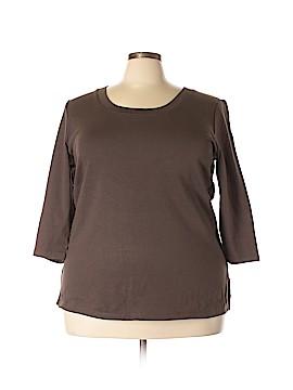 Venezia 3/4 Sleeve T-Shirt Size 22 - 24  (Plus)