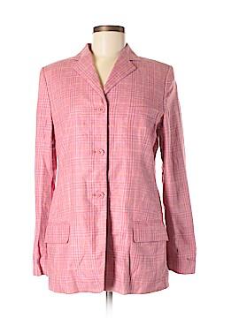Faconnable Silk Blazer Size 8