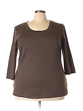 Venezia 3/4 Sleeve T-Shirt Size 18 - 20  (Plus)