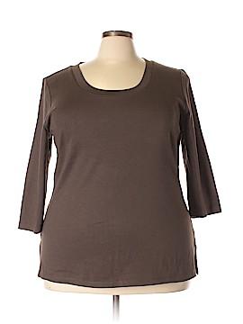 Venezia 3/4 Sleeve T-Shirt Size 14 - 16  (Plus)