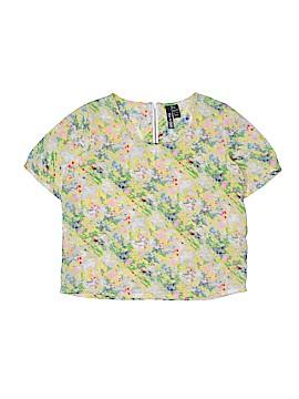 Fun & Flirt Short Sleeve Blouse Size L