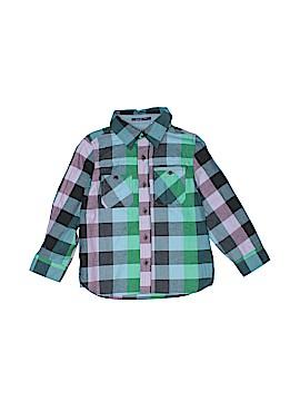 Ruum Long Sleeve Button-Down Shirt Size 3