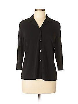 Josephine Chaus 3/4 Sleeve Blouse Size L