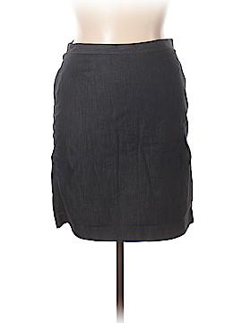 Ann Taylor LOFT Outlet Denim Skirt Size 14