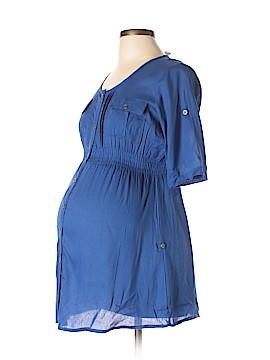 Oh! Mamma Short Sleeve Blouse Size M (Maternity)