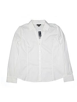 Metaphor Long Sleeve Button-Down Shirt Size XL