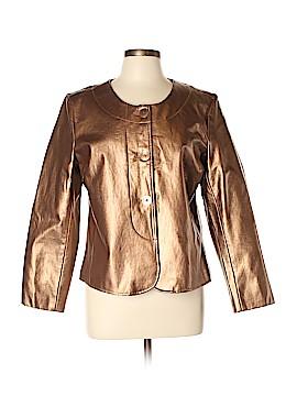 Jaclyn Smith Faux Leather Jacket Size L