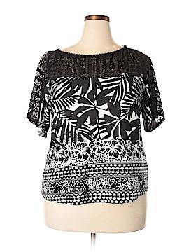 Figueroa & Flower Short Sleeve Top Size 2X (Plus)