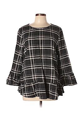 Doe & Rae Long Sleeve Blouse Size L