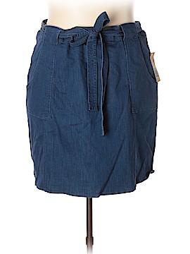 RACHEL Rachel Roy Denim Skirt Size 20W (Plus)