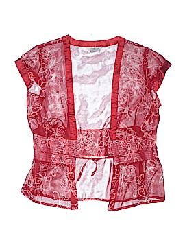Tramp Short Sleeve Blouse Size L