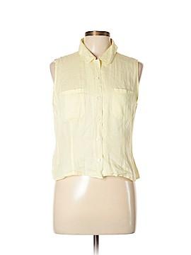 Ann Taylor LOFT Sleeveless Button-Down Shirt Size 10