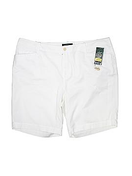 Lauren Jeans Co. Khaki Shorts Size 18 (Plus)