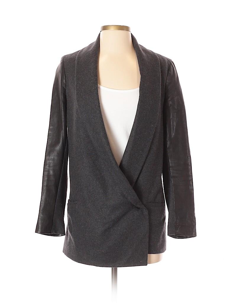 ALLSAINTS Women Wool Blazer Size 2