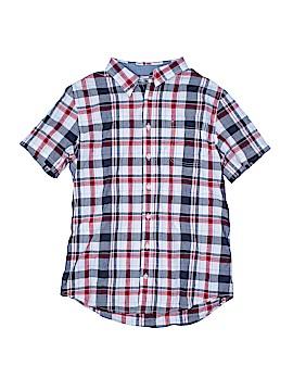Cherokee Short Sleeve Button-Down Shirt Size 16