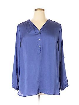 DressBarn Long Sleeve Blouse Size 2X (Plus)