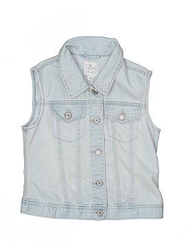 The Children's Place Denim Vest Size 10 - 12