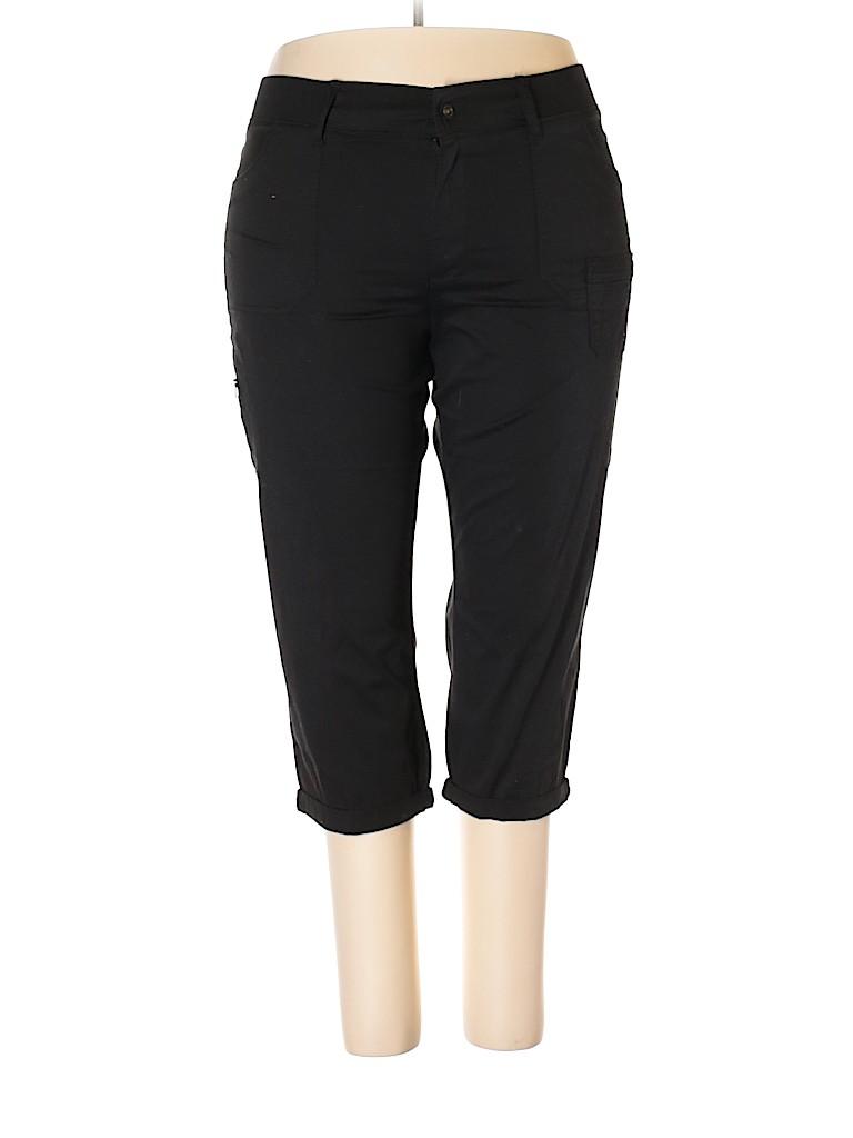 Lee Women Khakis Size 18 (Plus)