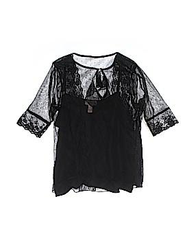 I.e. Short Sleeve Blouse Size L