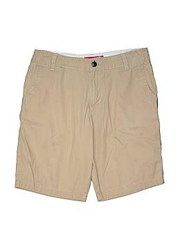 Arizona Jean Company Khaki Shorts Size 14 (Husky)