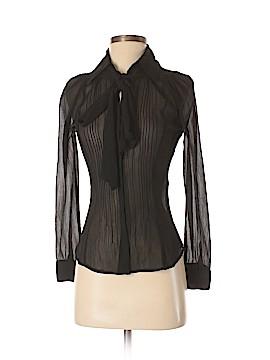 Zoe D. Long Sleeve Blouse Size S