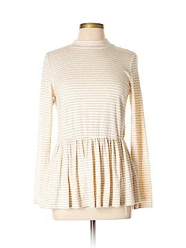 FASHION TO FIGURE Long Sleeve Blouse Size 0X Plus (0) (Plus)