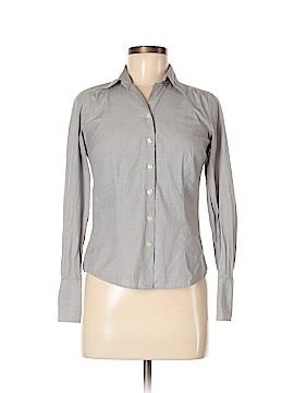 Ann Taylor Factory Long Sleeve Button-Down Shirt Size 0