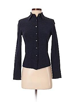 Cynthia Steffe Long Sleeve Silk Top Size 4