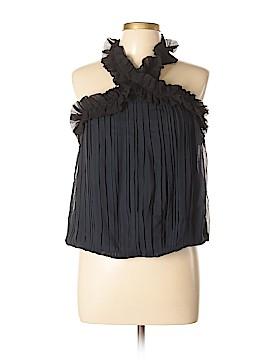 Intermix Sleeveless Silk Top Size L