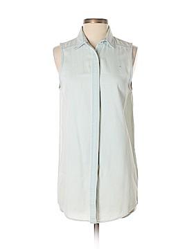 Cheap Monday Sleeveless Button-Down Shirt Size XS