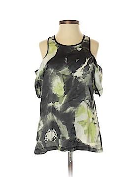 Vivienne Vivienne Tam Short Sleeve Blouse Size S (Petite)