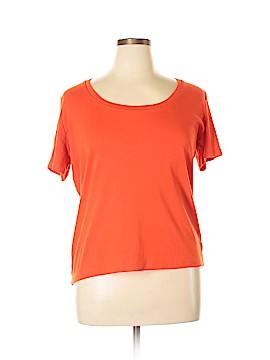 Jones New York Signature Short Sleeve T-Shirt Size 1X (Plus)