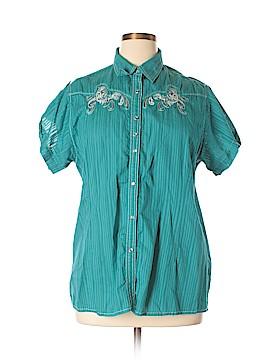 Rock 47 Short Sleeve Button-Down Shirt Size XXL