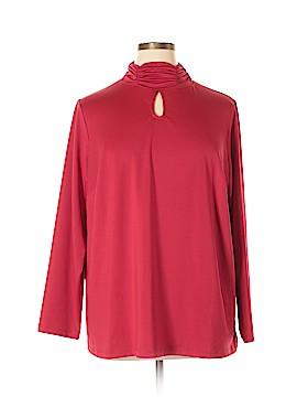 Susan Graver Long Sleeve Top Size 2X (Plus)
