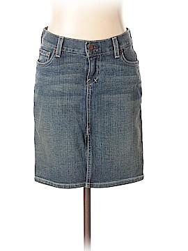 Ezra Fitch Denim Skirt 24 Waist