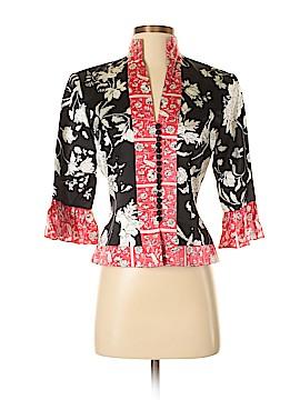 JS Collection Silk Blazer Size 4