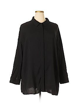 Soft Surroundings Long Sleeve Blouse Size 3X (Plus)