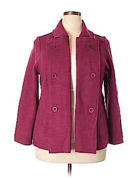 Eileen Fisher Wool Cardigan Size 1X (Plus)