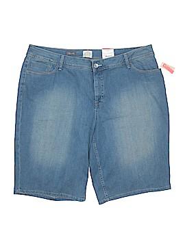 St. John's Bay Denim Shorts Size 22W (Plus)
