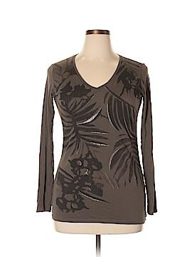 Tahari Long Sleeve T-Shirt Size L