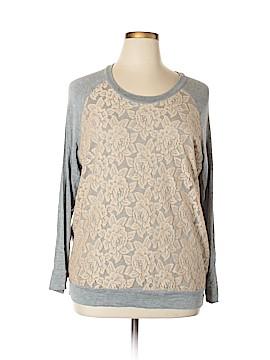 Kim & Cami Sweatshirt Size XL
