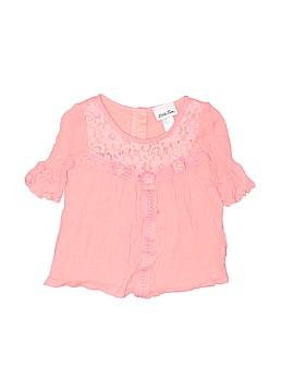 Little Lass Short Sleeve Blouse Size 5