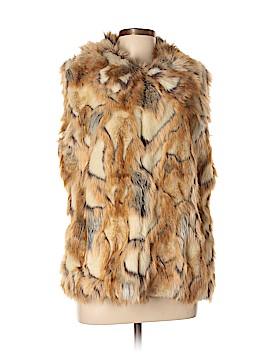 Rachel Zoe Faux Fur Vest Size L
