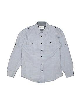 Paper Denim & Cloth Long Sleeve Button-Down Shirt Size 8