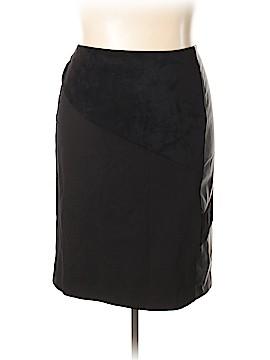Calvin Klein Faux Leather Skirt Size 20 (Plus)