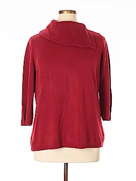 Hampshire Studio Pullover Sweater Size 1X (Plus)