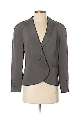 Due Per Due Silk Blazer Size 4