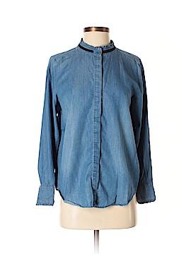 Kensie Long Sleeve Blouse Size M