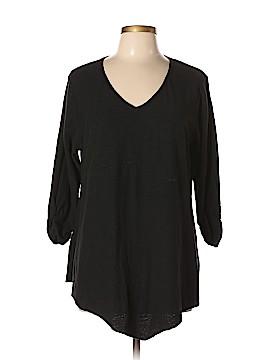 Style&Co 3/4 Sleeve T-Shirt Size 0X (Plus)